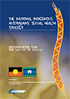 Cover of the National Indigenous Australian's Sexual Health Strategy publication
